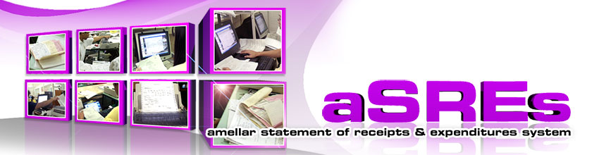 Amellar Statement of Receipts & Expenditures System